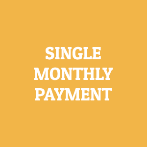 single monthly payment